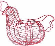 Yardwe Egg Storage Basket Chicken Wire Eggs