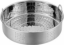 Yardwe Food Steamer Basket 25cm Stainless Steel