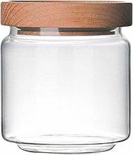 Yardwe Glass Storage Jar Kitchen Food Storage