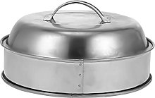 Yardwe Heavy Duty Cheese Melting Dome Stainless
