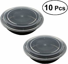 Yardwe Meal Prep Containers,10 Pack Bento Boxes