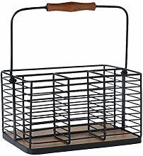 Yardwe Metal Kitchen Pantry Food Storage Organizer