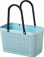 Yardwe Plastic Shopping Basket Bag With Handle
