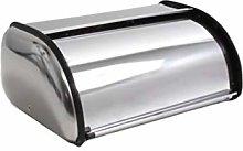 Yardwe Stainless Steel Bread Box Roll Top Bread