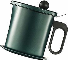 Yardwe Stainless Steel Oil Grease Storage Can with