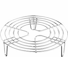 Yardwe Steamer Insert Cooking Stand Stainless