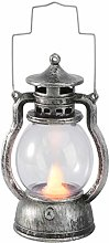 Yardwe Vintage LED Lantern Handheld Realistic