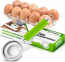 Yarmoshi Stainless Steel Egg Separator, Filters