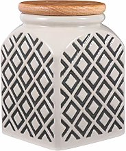 YARNOW Ceramic Canister Coffee Tea Sugar Food
