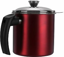 YARNOW Cooking Oil Container Bacon Grease Keeper