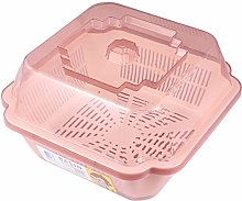 YARNOW Dish Tub and Colander Set Dishes Drying