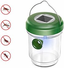 YARNOW Solar Power Bees Wasp Trap,Hornet Trap