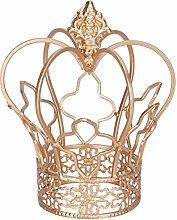 yarshopy Gold Crown Cake Topper, Decorative Desk