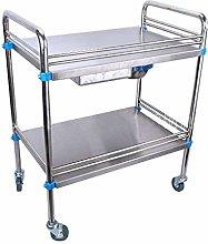 YASEking Stainless Steel Trolley-Medical Surgery