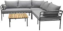 Yashvi 4 Seater Corner Sofa Set Sol 72 Outdoor