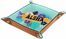 YATELI Small Storage Box,mens valet tray,Aloha