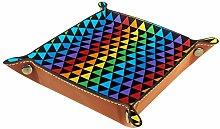 YATELI Small Storage Box,mens valet tray,Colorful