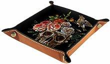 YATELI Small Storage Box,mens valet tray,Vintage