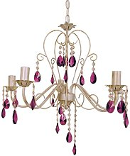 Yately 5-Light Candle Style Chandelier