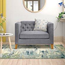 Yatts 2 Seater Loveseat Sofa Zipcode Design