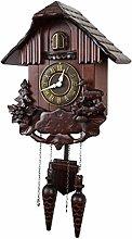 yaunli Cuckoo clock Home Cuckoo Roman Numeral Wall
