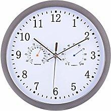 Yavso Radio Controlled Wall Clock Silent Kitchen