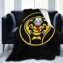Yaxinduobao Cobra Kai Blanket Cover Blanket