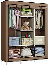 YAYI Canvas Wardrobe Cupboard Clothes Storage