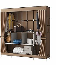 YAYI Canvas Wardrobe Portable Wardrobe Shelves