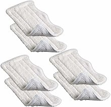 YBC 6pcs Replacement Washable Microfiber Pads For