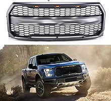 YBNB Front Grill, Suitable For 2015-2017 F150