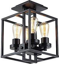 YBright 4-Light Semi Flush Mount Ceiling Lights