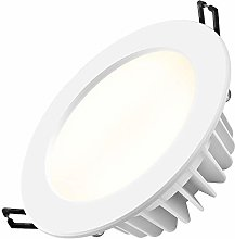 YBright 7W Recessed Ceiling Downlights PC Panel