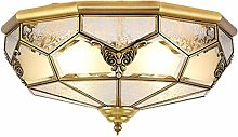 YBright American Industrial 4-Light Ceiling Light