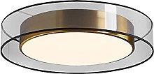 YBright Nordic Minimalist Ceiling Light 36W Modern