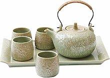 YBWEN Tea Set Ceramic Tea Set Creative Japanese