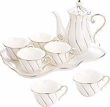 YBWEN Tea Set European Minimalist Ceramic