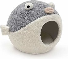 YBYB Dog Bed Creative Puffer PVC Pet Nest Four