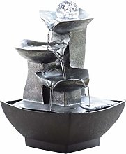 YBYB Tabletop Fountain Indoor Water Fountain with