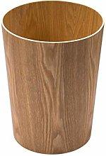 YBYB Waste bin 12L/3.17Gallon Wood Trash Can