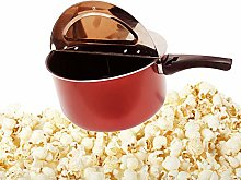 YC° Stainless Steel Stovetop Popcorn Popper