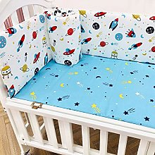 YCDZ Baby Bed Surrounding Pure Cotton Gauze