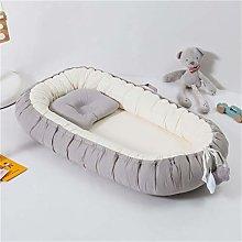 YCDZ Portable Crib Fully Surrounding Crib Baby