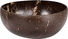 YChoice365 Natural Coconut Shell Bowl | Polished