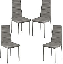 YCHUAN Bar Stools, 4Pcs Dining Chairs compartment