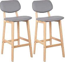 YCHUAN Bar Stools, Comfortable Bar Chair Modern