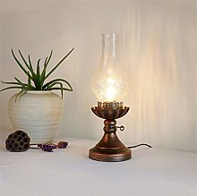 Ycxydr Old-fashioned kerosene lamp, tea room, tea