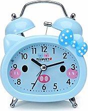 YCYLMQ Twin Bell Alarm Clock for Kids, Silent