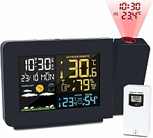 YDHBD Projection Alarm Clock, Meteorological