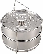 YDong Pressure Pot Accessories,Stackable Steamer